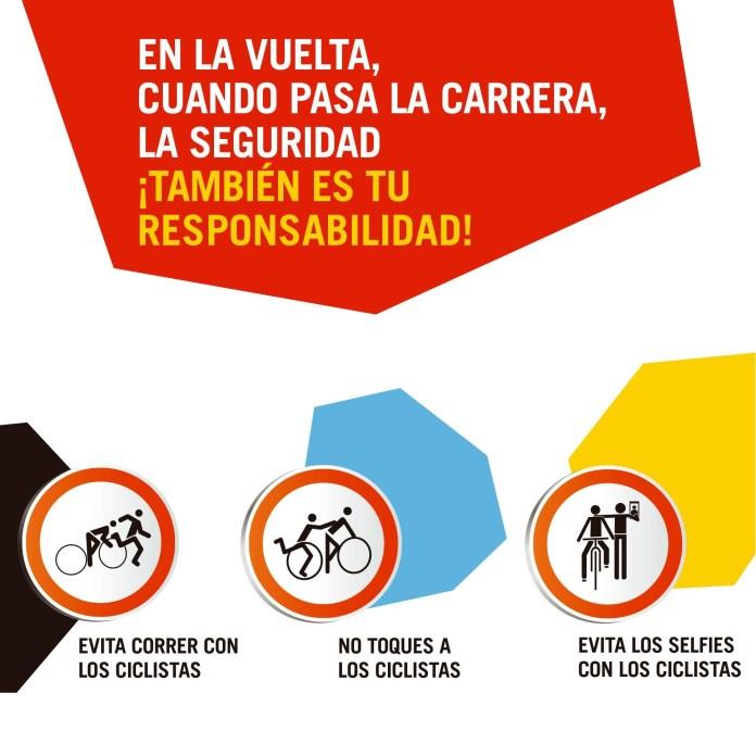 Consejos de seguridad, cortes de tráfico y restricciones de aparcamiento para La Vuelta Ciclista en Vélez-Màlaga