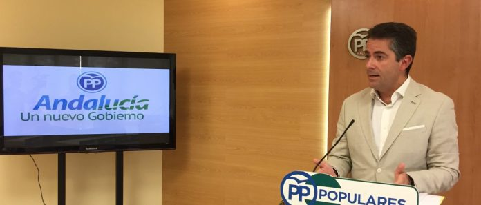 El vicesecretario de Economía y Sectores Productivos del PP de Málaga,Carlos Conde.