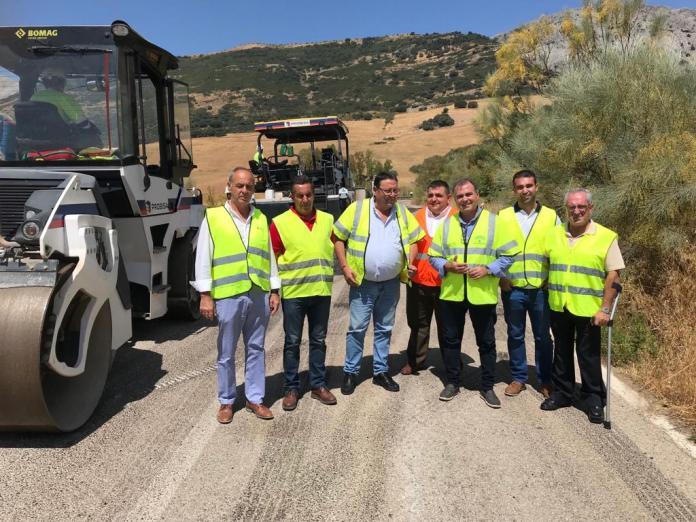 La Junta invierte 270.000 euros en la mejora de carreteras de La Axarquía dañadas por los últimos temporales de lluvia