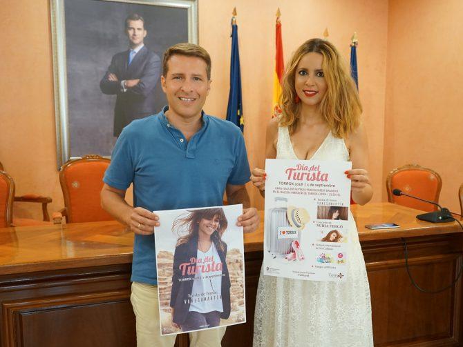 Torrox distinguirá a la cantante Vanesa Martín como 'Turista de Honor'