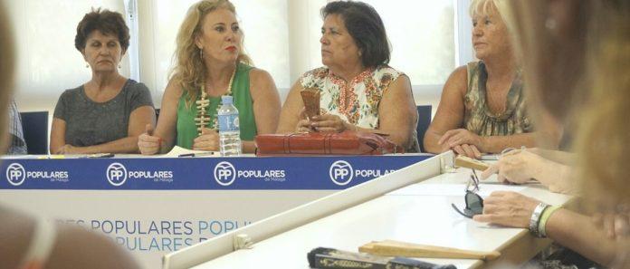 La diputada nacional por el PP de Málaga Carolina España ha destacado que esta semana se hace efectiva la subida de las pensiones de viudedad.