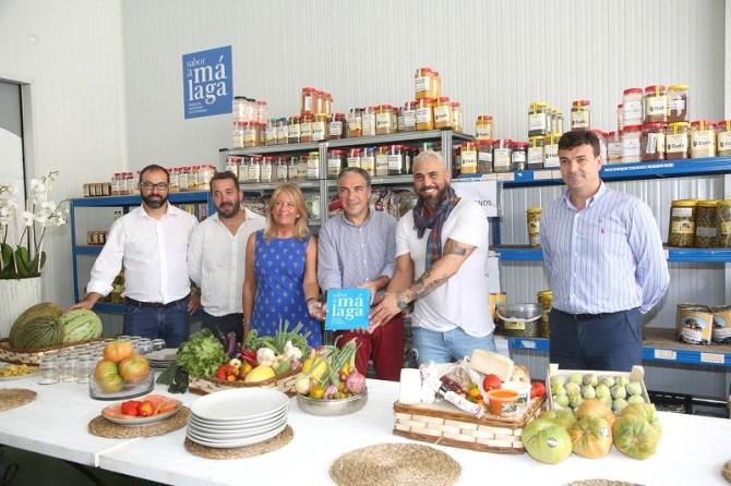 Elías Bendodo destaca la importancia de las empresas distribuidoras de la provincia en la estrategia global de 'Sabor a Málaga'