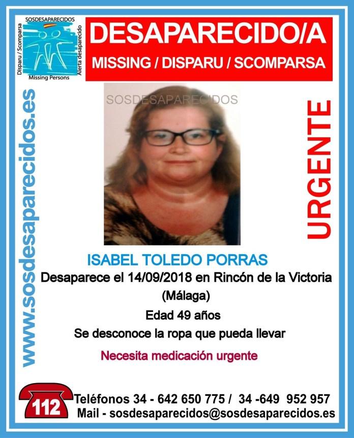 Buscan a una mujer desaparecida en Rincón de la Victoria