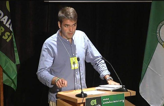 El Congreso Nacional ordinario de Andalucía Por Sí (AxSí) aprobó el sábado 22 de septiembre, por unanimidad, que Joaquín Bellido encabece la candidatura al Parlamento en las próximas elecciones autonómicas.