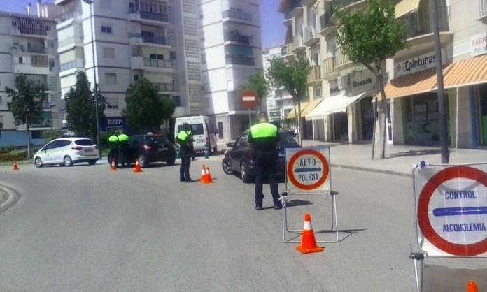 Campaña de control de velocidad con radar y campaña de distracciones al volante en el municipio de Vélez-Màlaga