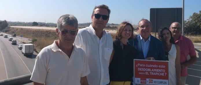 El PP ejecutará de inmediato el desdoblamiento de la A-356, a la altura de El Trapiche, si llega al Gobierno andaluz