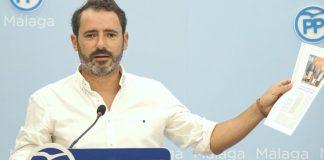 El portavoz del PP de Málaga,José Ramón Carmona.