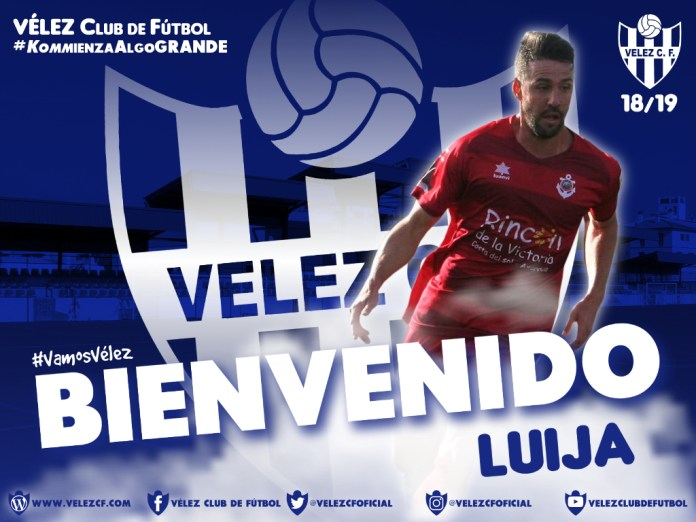 El Vélez C.F. cierra la contratación del lateral Luija