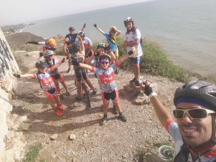 Diversión en los entrenamientos de la Escuela de Ciclismo deRincón Sport Team 'Los Tiburones'