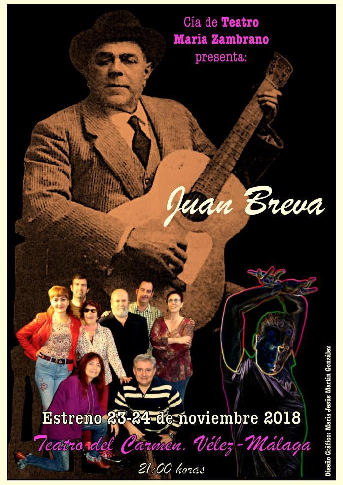 Teatro del Carmen de Vélez Málaga. Viernes 23 y sábado 24 de noviembre a las 21 horas.