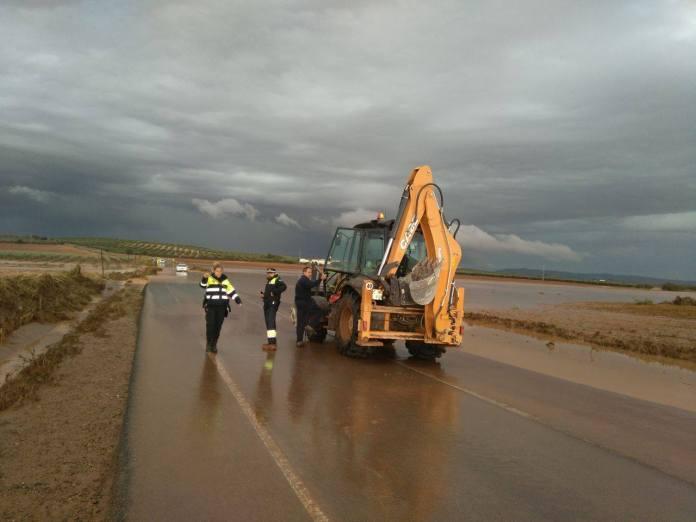 Previsto aviso naranja por lluvias en las provincias de Cádiz, Málaga y Granada