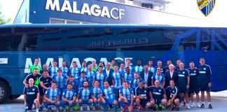 Los 27 jugadores y los 14 miembros del cuerpo técnico posaron juntos para una imagen que ya forma parte del archivo histórico de la Entidad.
