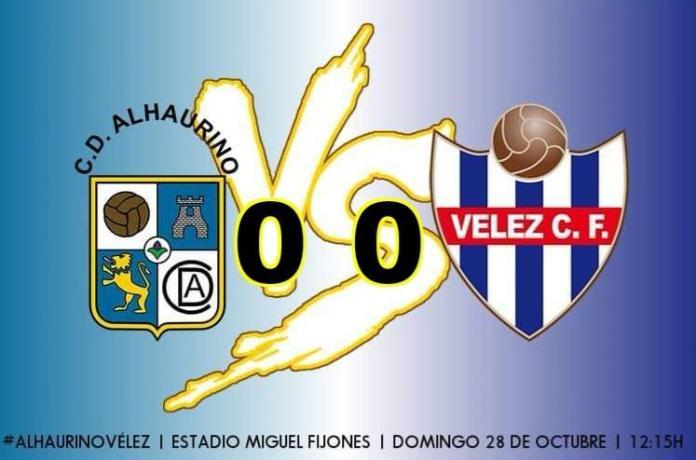 Tablas para el duelo solidario entre el Alhaurino y el Vélez Club de Fútbol (0-0)