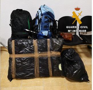 La Guardia Civil detiene a cuatro individuos por robos en viviendas en zonas rurales de la Axarquía