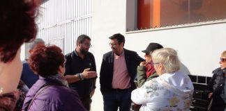 El candidato ha recalcado que Adelante Andalucía aumentará la cartera de servicios del SAS en consonancia con las demandas de la ciudadanía.
