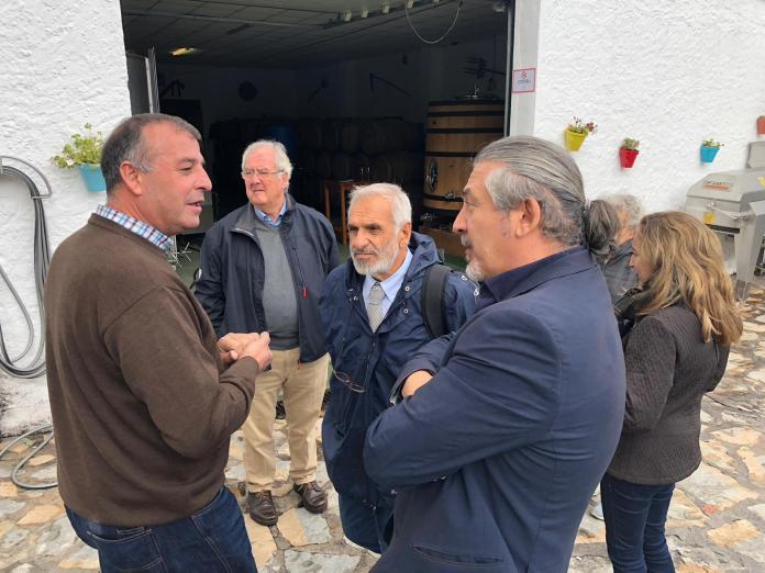 Especialistas visitan Moclinejo para desarrollar un proyecto Europeo