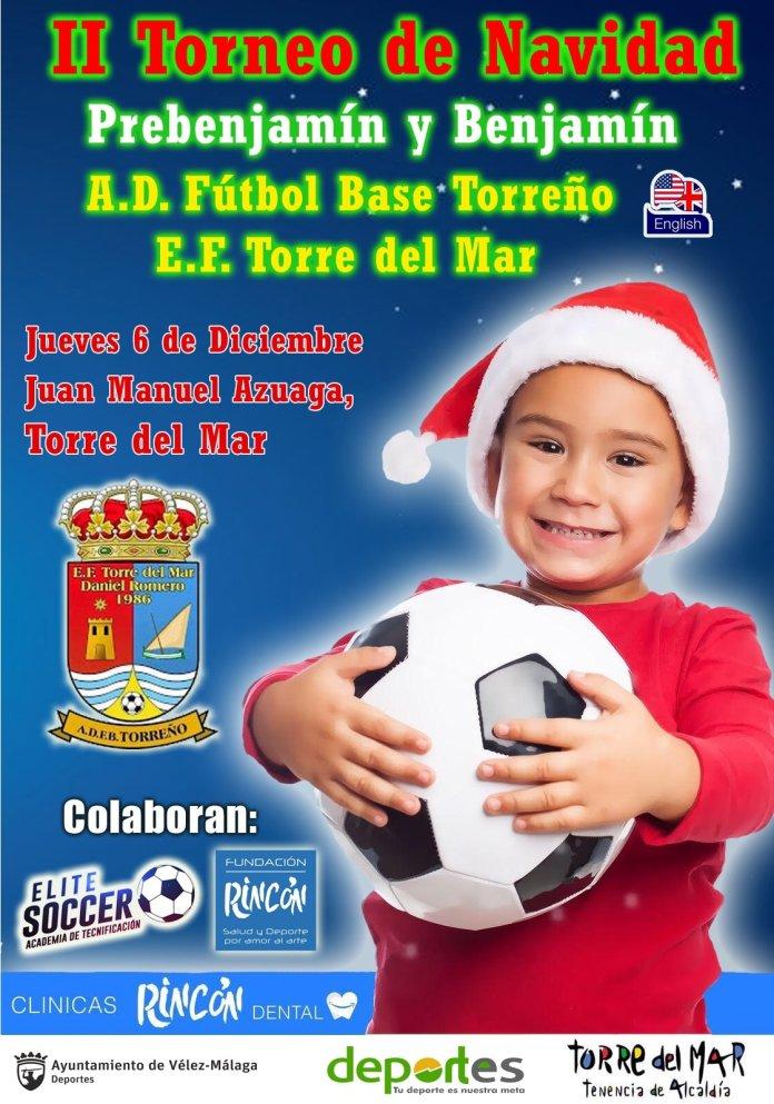 El fútbol base, protagonista este jueves en Torre del Mar con una nueva edición de su torneo navideño