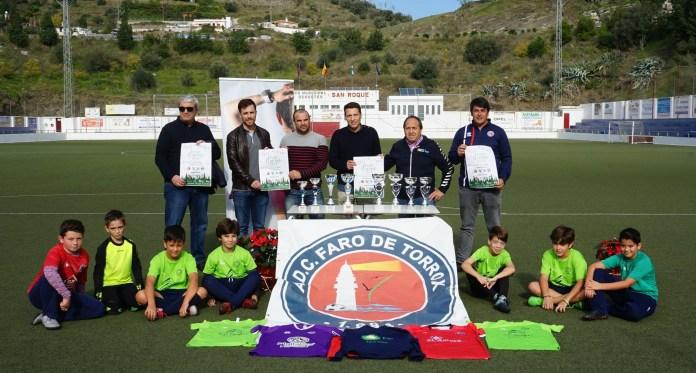 El encuentro de fútbol base, que congregará a ocho equipos en las categorías de infantil y cadete, se celebrará en horario de mañana y tarde