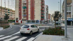 Nuevo avance para la peatonalización del centro de Vélez con la apertura en plazo de la rotonda del Camino Viejo de Málaga