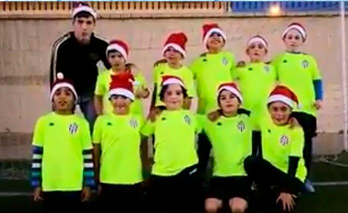 La cantera deVélez Club de Fútbol felicita la Navidad y el nuevo año 2019
