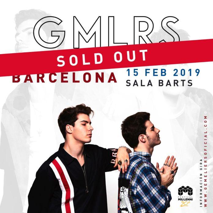 Gemeliers agotan las entradas en Barcelona con el Tour Stereo