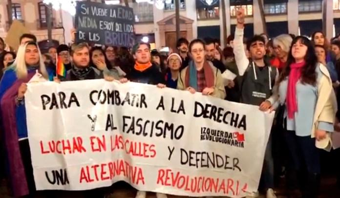 Málaga se manifiesta contra «la llegada de la extrema derecha»