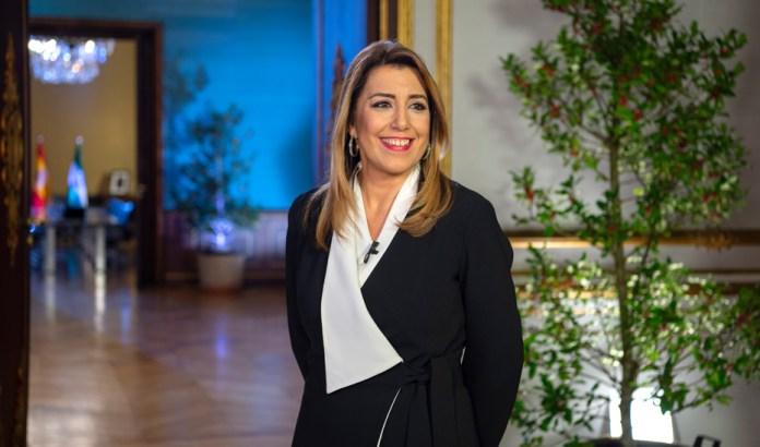 Susana Díaz lanza un «mensaje de confianza» en Andalucía y su «capacidad para salir adelante»