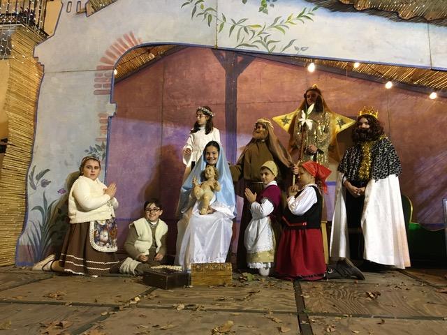 El Belén Viviente del C.E.I.P. San José de Vélez-Málaga recibirá a los Reyes Magos a su llegada a la plaza de Las Carmelitas