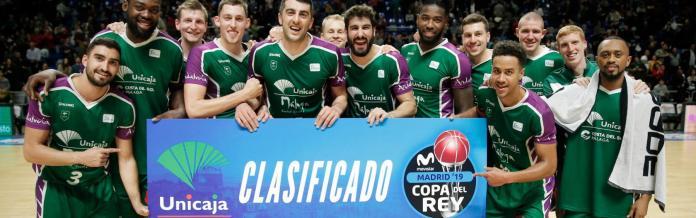 Unicaja sella su clasificación para la Copa del Rey tras vencer al Estudiantes (82-76)