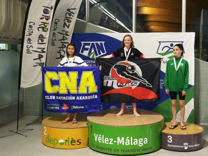 Marta Vigo se proclama subcampeona de Andalucía en el 100 espalda