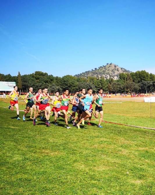 Apoteósica actuación del Club Atletismo Nerja en el Nacional de Cross