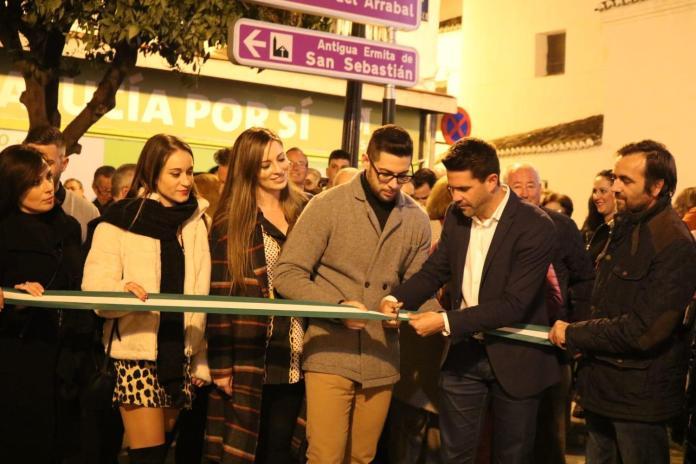 Espectacular recibimiento en la inauguración de la nueva sede de Andalucía por Sí en Vélez-Málaga