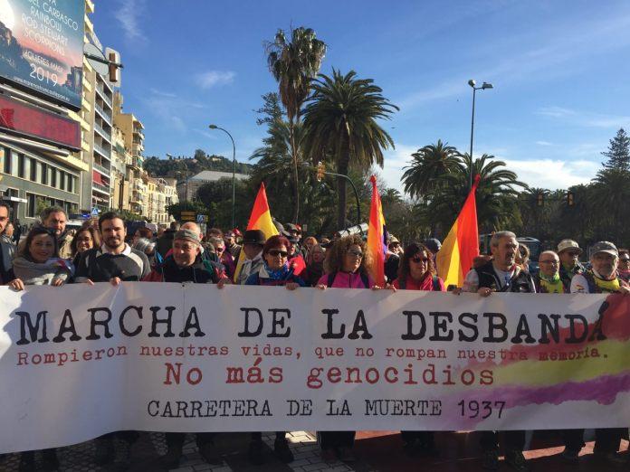 IU Rincón de la Victoria se compromete con la III Marcha de la Desbandá