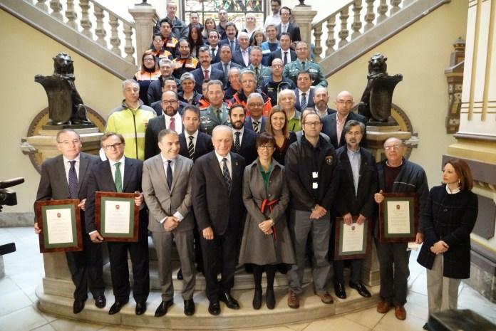El Ayuntamiento de Málaga reconoce a todos los que aportaron en el rescate del pequeño Julen