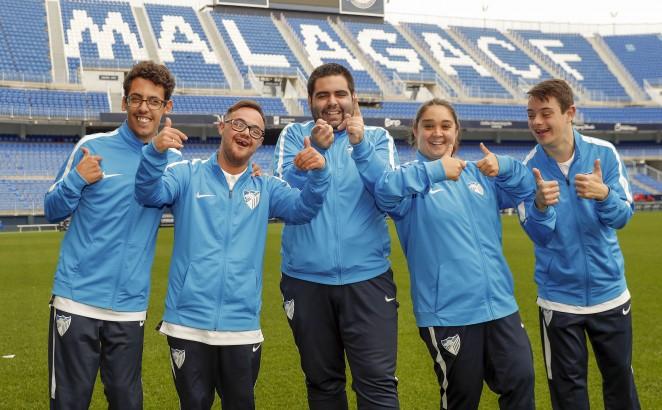El Málaga Genuine galardonado con la 'M' de Málaga