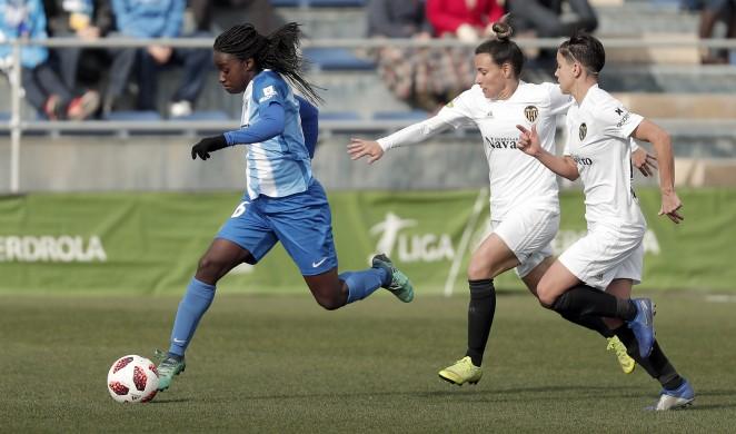 El Málaga Femenino cae ante un sólido Valencia (1-4)