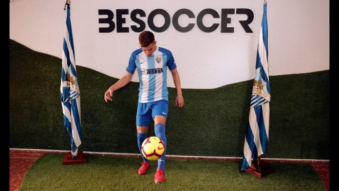 El Málaga C.F. presenta a Iván Alejo