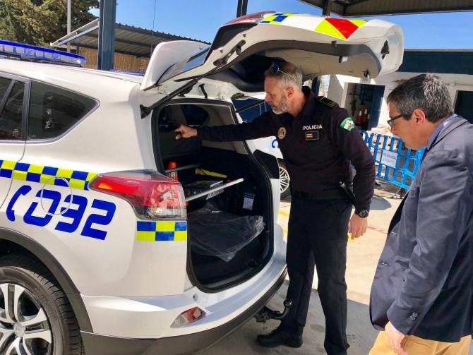 La Policía Local de Rincón de la Victoria remodela el parque móvil