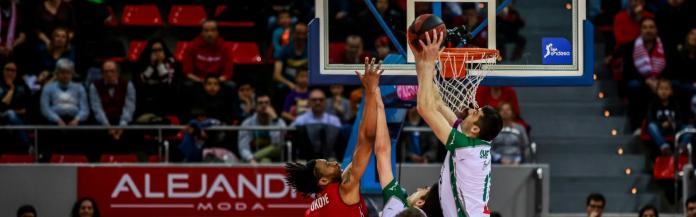 Tecnyconta Zaragoza se llevó la victoria en los segundos finales (72-70)