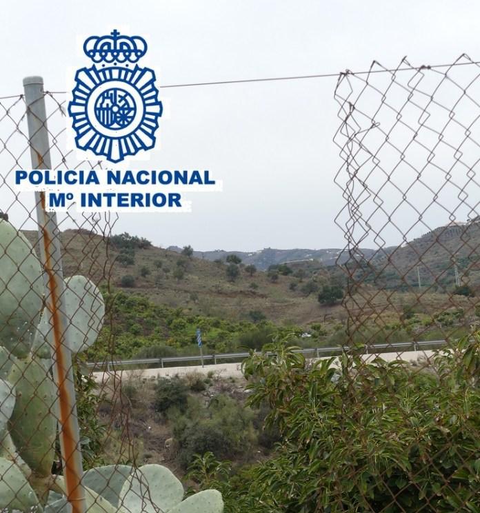 La Policía Nacional detiene en Vélez-Málaga a siete personas dedicadas a robar en cortijos y explotaciones agrícolas de la comarca de la Axarquía