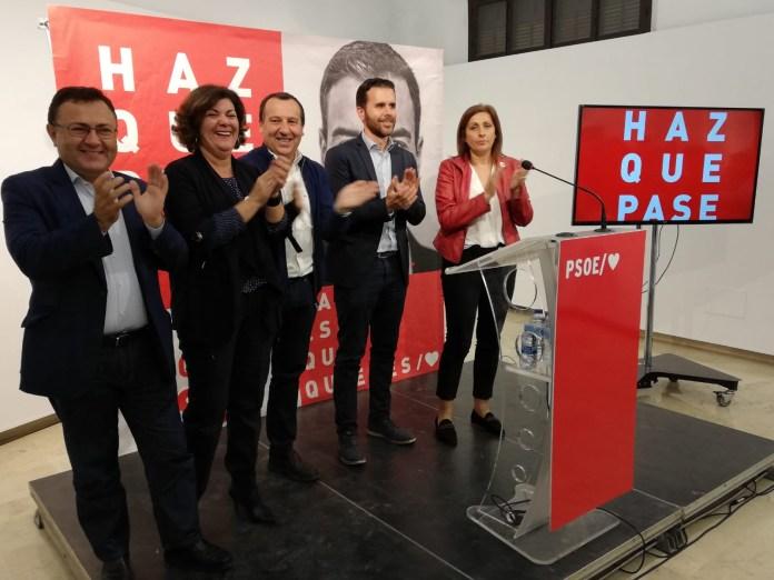 El PSOE anima en la comarca de Antequera a votar a Pedro Sánchez «para seguir avanzando en derechos y libertades»
