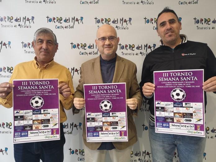 El fútbol vuelve a ser protagonista en Torre del Mar durante la Semana Santa