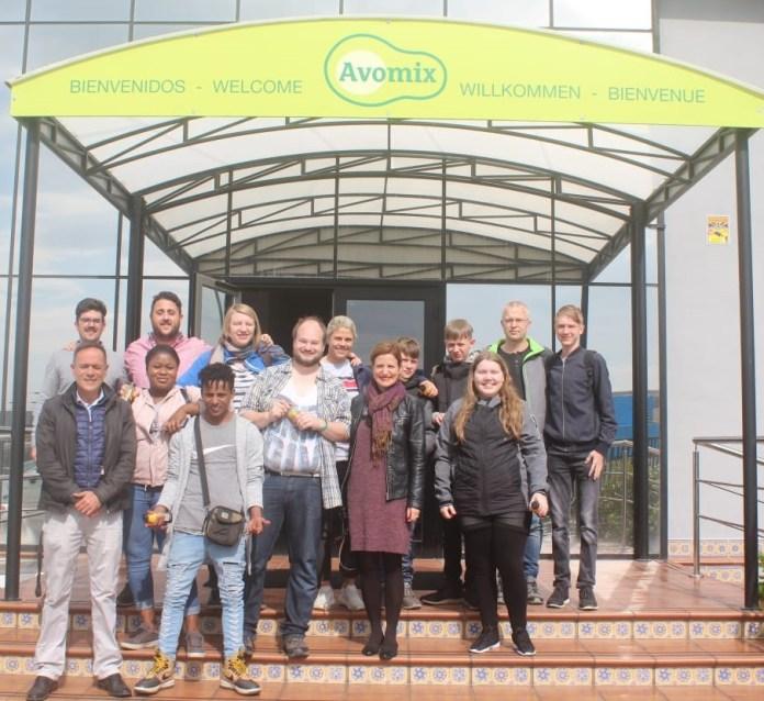 Estudiantes daneses se interesan por el modelo empresarial del Parque Tecnoalimentario de Vélez-Málaga