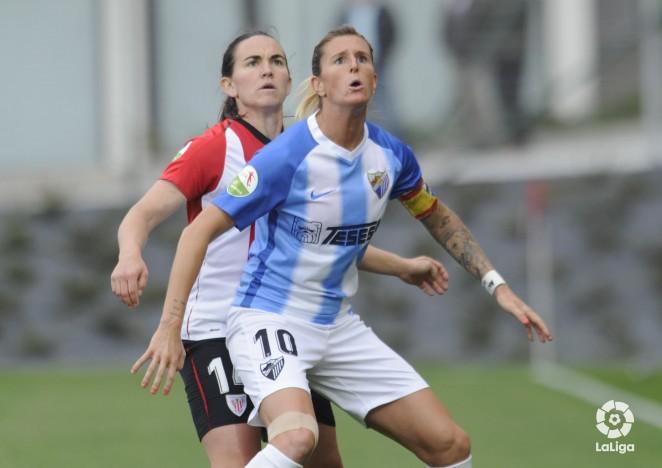 """Adriana: """"El Málaga se merece estar en Primera"""""""