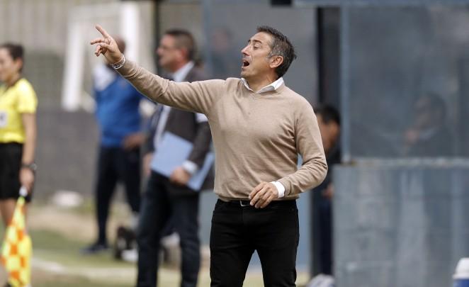"""El técnico del Málaga CF Femenino:  """"Contento con el trabajo, pero el fútbol ha sido injusto con las jugadoras»"""