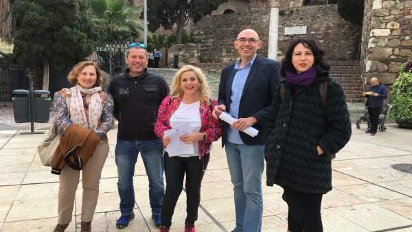 Unidas Podemos reclama inversiones en Alcazaba y Gibralfaro y cumplir los compromisos en San Agustín