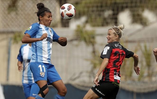 El Málaga CF Femenino sigue sumando en casa (1-1)