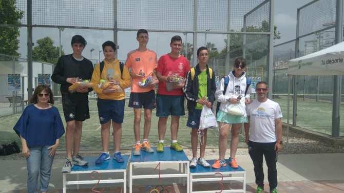 Celebrado el VI Torneo Solidario de Pádel de menores a beneficio de EMAUS