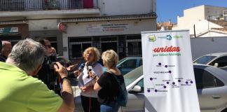 """Para la candidata a la Alcaldía de Vélez-Málaga, Alicia Pérez, """"tenemos que hacer posible un municipio donde no sean necesarios los comedores públicos y no haya colas en los servicios sociales""""."""