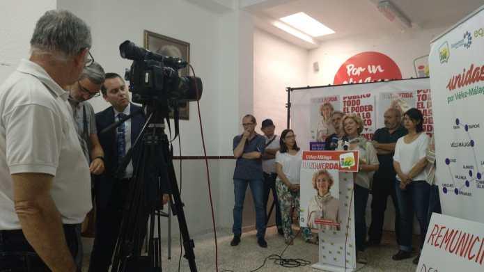 La economía de los cuidados y el empleo verde marcan la línea de acción de Izquierda Unida para el próximo gobierno municipal de progreso real y transformador de Vélez-Málaga